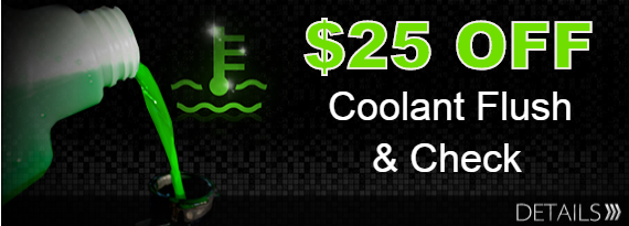 Coolant Flush Coupon in Rogers AR & Springdale,AR